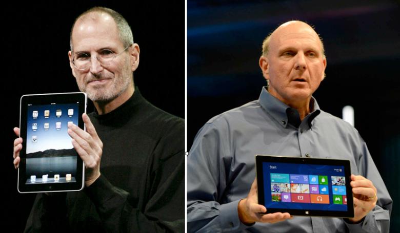 iPad and Surface