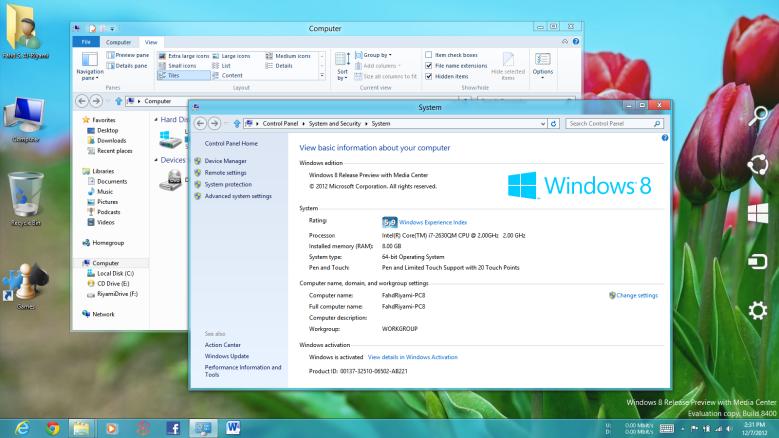 Windows 8 Freeze Crash Unresponsiveness Bug