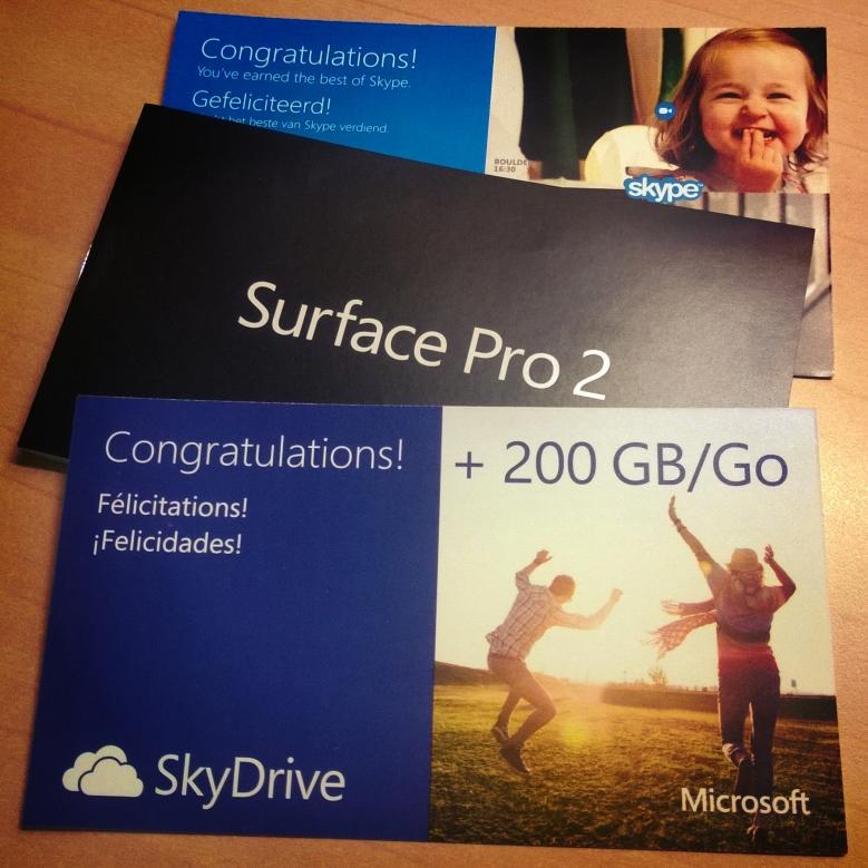 Surface Bundled Goodies!